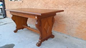Tavolo , scrittoio vecchia cerea rettangolare. 159l x 79p x 78h