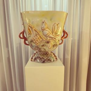 Vaso in ceramica Manifattura MINGHETTI