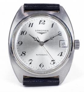 Orologio da polso vintage Longines automatico in acciaio , anni 60