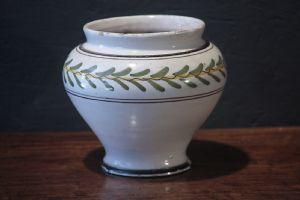 Majolica vaso, Siena, Louis XVI