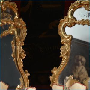 Coppia di specchiere veneziane - XVIII secolo
