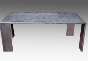 Rectangular iron table - made in Italy