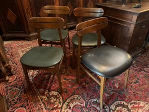 Quattro sedie anni 50