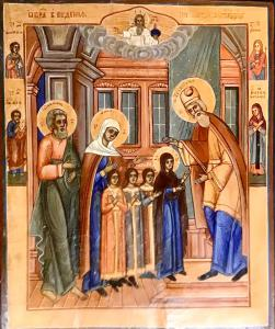 Presentation of Mary in the Temple - cod. B79