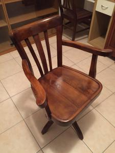 20世纪40年代的旋转椅子