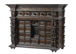 Genoese coin cabinet in Bambocci '600