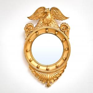 French mirror from the end of the 19th century, French mirror from the end of the 19th century