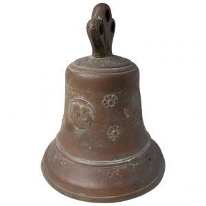 Старинный итальянский бронзовый колокол - ref. O / 5088