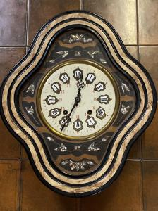 reloj de pared antiguo ojo de buey