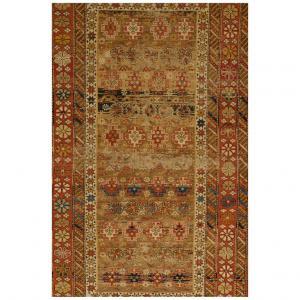 Frammento di antico tappeto Caucasico SHIRVAN