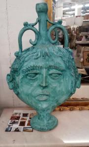 Vietri ceramic vase