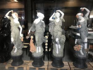 Statue in marmo quanto stagioni 190h