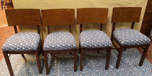 4 Art-Deco-Stühle