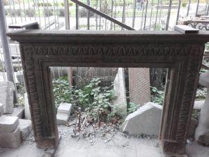 chimenea de piedra