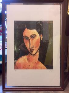 Litografia di Amedeo Modigliani