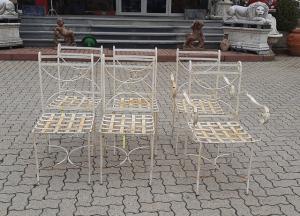 自由铁扶手椅