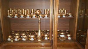 Importante servizio Veneziano in oro Zecchino 92 pezzi