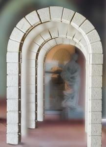 PORTAL IN MARBLE
