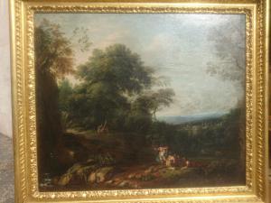 Jan Frans van Bloemen(1662-1749)创作的一对风景被称为地平线