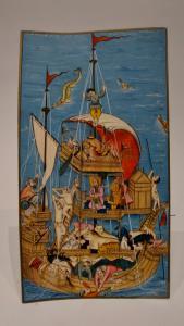 Miniatura India dipinta su avorio XIX secolo