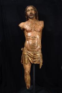 Cristo Portacroce, Castiglia o Aragona, seconda meta' Del  XVI Secolo