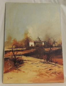 pintura de Luigi Rocca 50 x 70