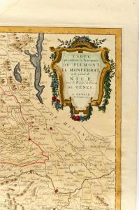 Karte von Monaco von 1780 - ref. ST / 609