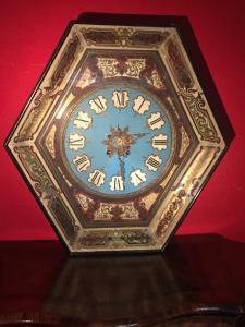 orologio esagonale cm 65 x 63