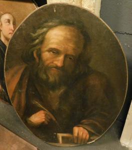 pan229 - dipinto olio su tela, cm l 56,5 x h 74