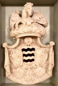 Edles Wappen aus Marmor