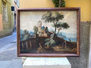 Paesaggio - olio su tela