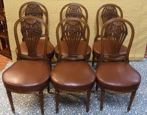 6把巴黎椅子
