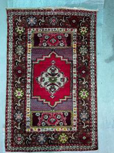 Persian carpet (kirshar?).