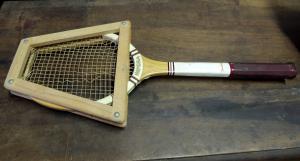 raquetas de tenis de principios de 1900