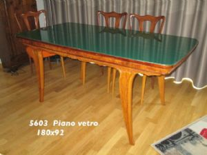 TABLE '900 GLASS PIANO