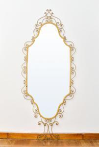 Зеркало из позолоченного железа 60-х годов, Зеркало из позолоченного железа 60-х годов