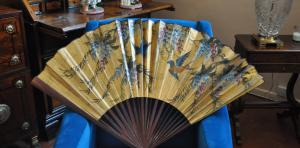 Fan painted China
