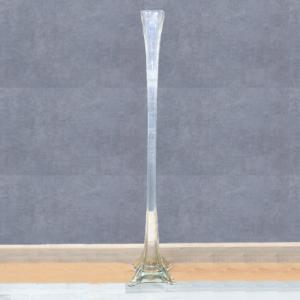 Grande vaso a stelo in vetro di Murano, Large stem vase in Murano glass