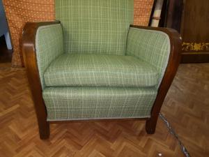 装饰艺术风格扶手椅
