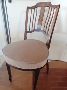 Grupo de 4 cadeiras liberty embutidas