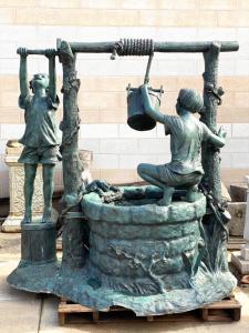 青铜喷泉190x120x190h