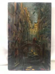 "Attilio Andreoli。 1877/1950年""威尼斯"""