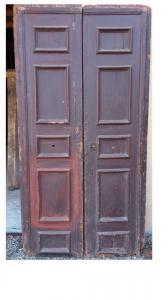 2-створчатая дверь