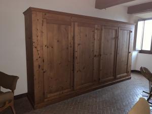 Large larch cabinet sec. XlX