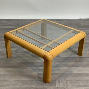 复古Molteni方形矮桌,1970年代