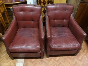 Armchairs art deco