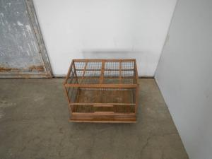 50's wooden cage