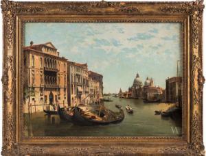 Canale Grande con palazzo Cavalli Franchetti