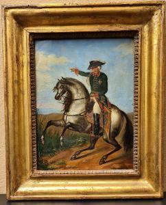 普鲁士弗雷德里克·威廉三世在马背上的肖像