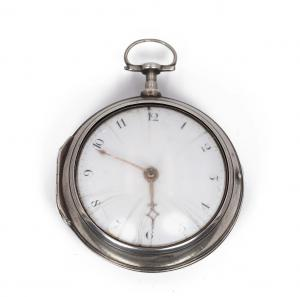 Antique silver pocket watch, London 1797